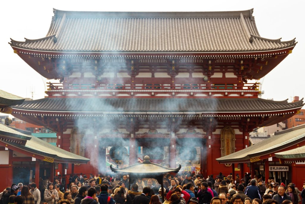 The Temples of Asakusa