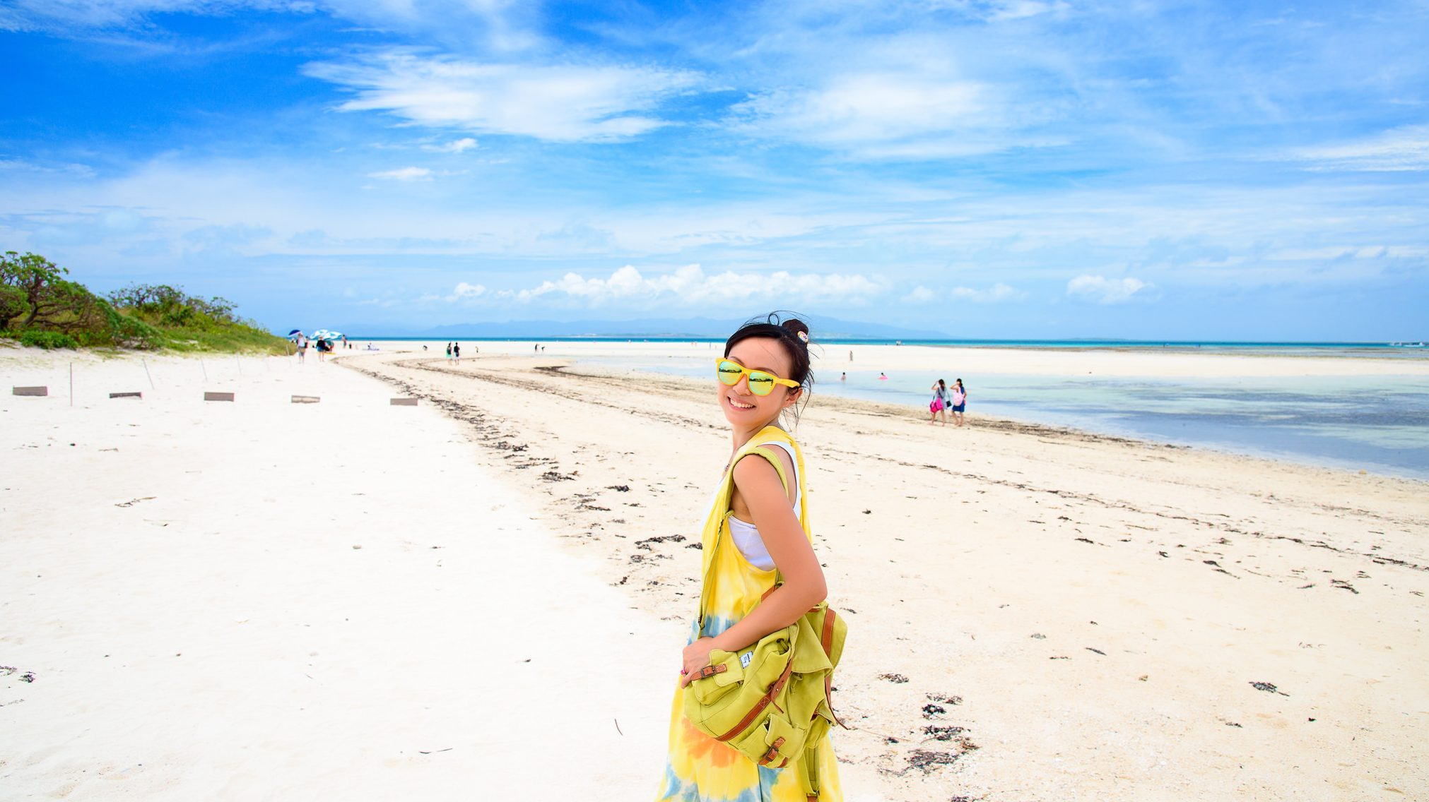 The Okinawa beach is one of the best beaches in Japan.