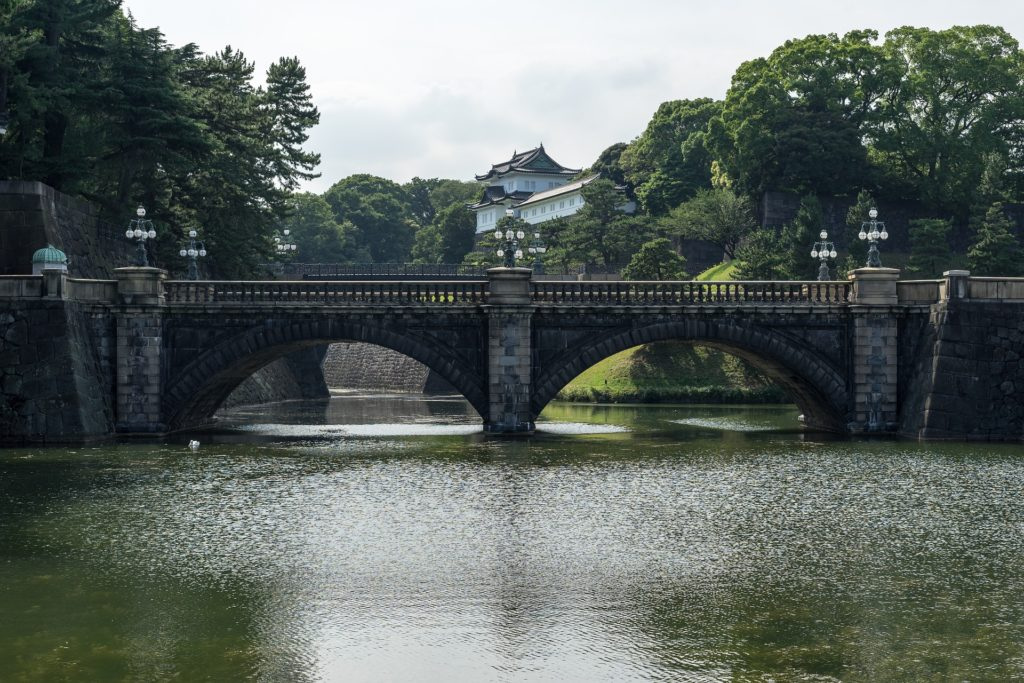 Old Tokyo / Chiyoda contains some of the oldest symbols of power in the country