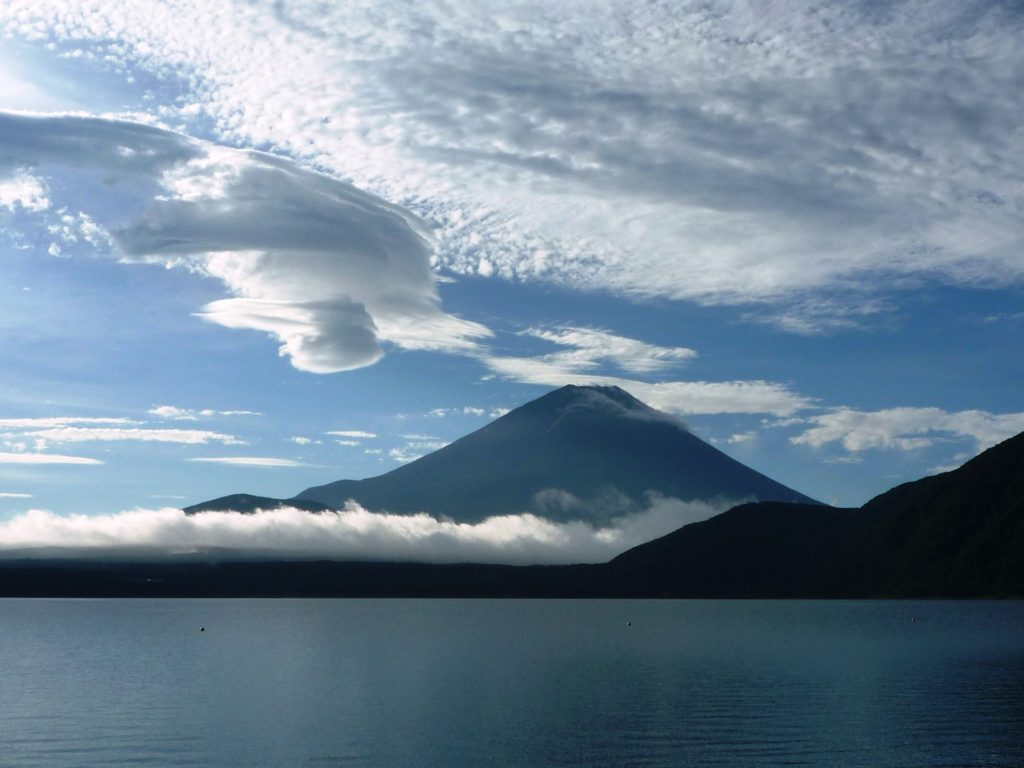 Fuji Five Lakes offer a great scenery.