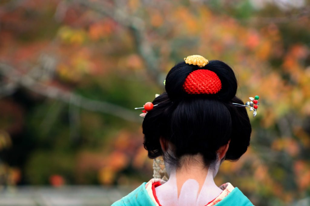 Learn how to spot a Geisha