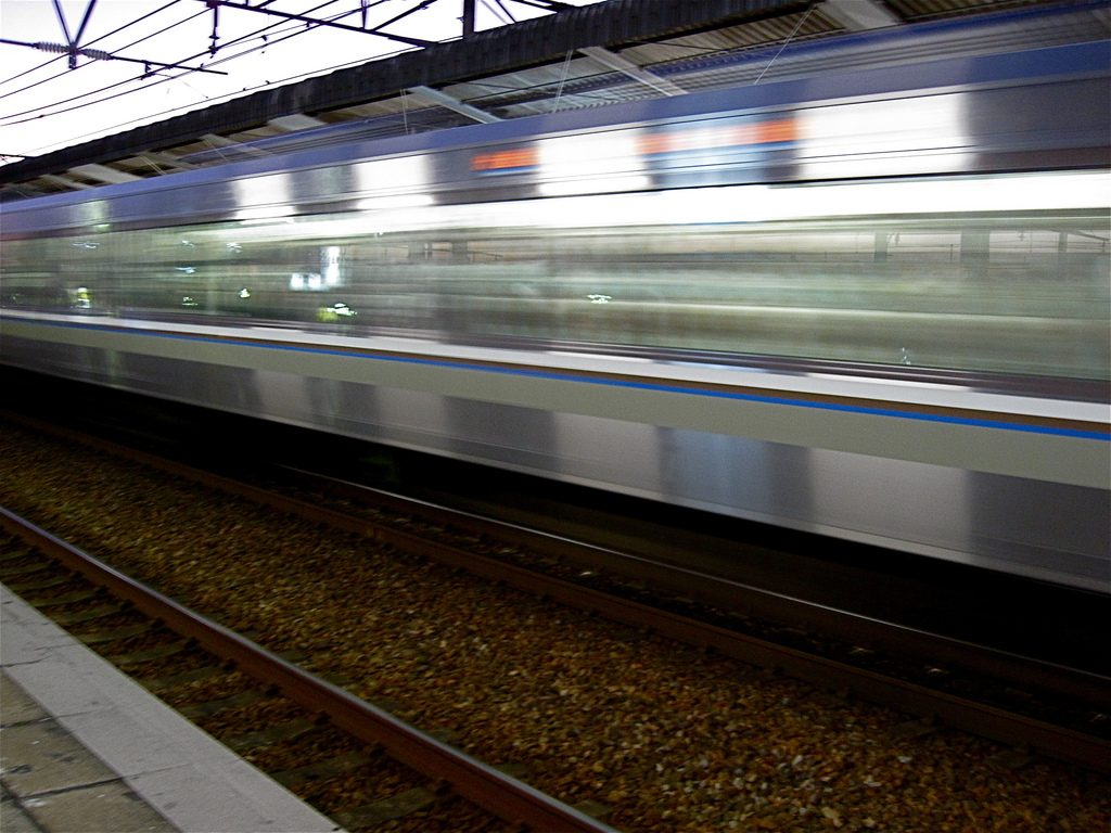 Trains in Japan are fast and reliable.