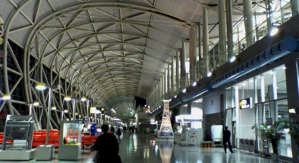 Kansai International Airport of Osaka