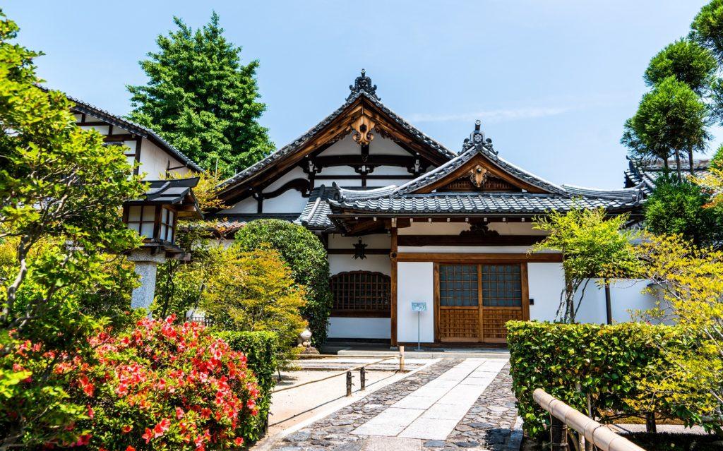 Relaxing area: Arashiyama in Kyoto