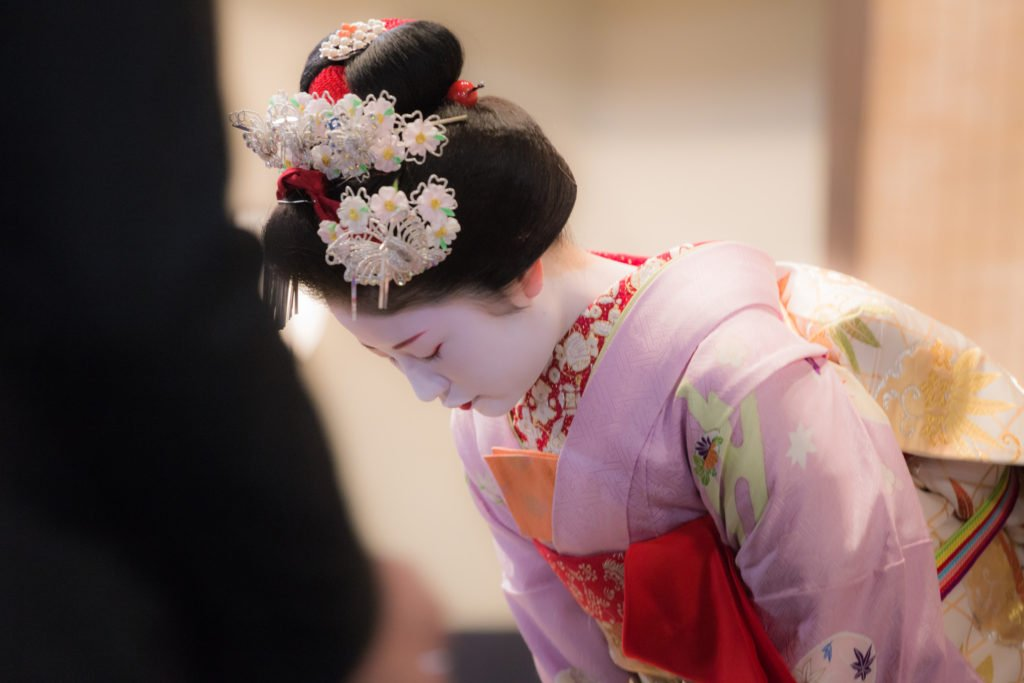 Kyoto is the home of the Geisha
