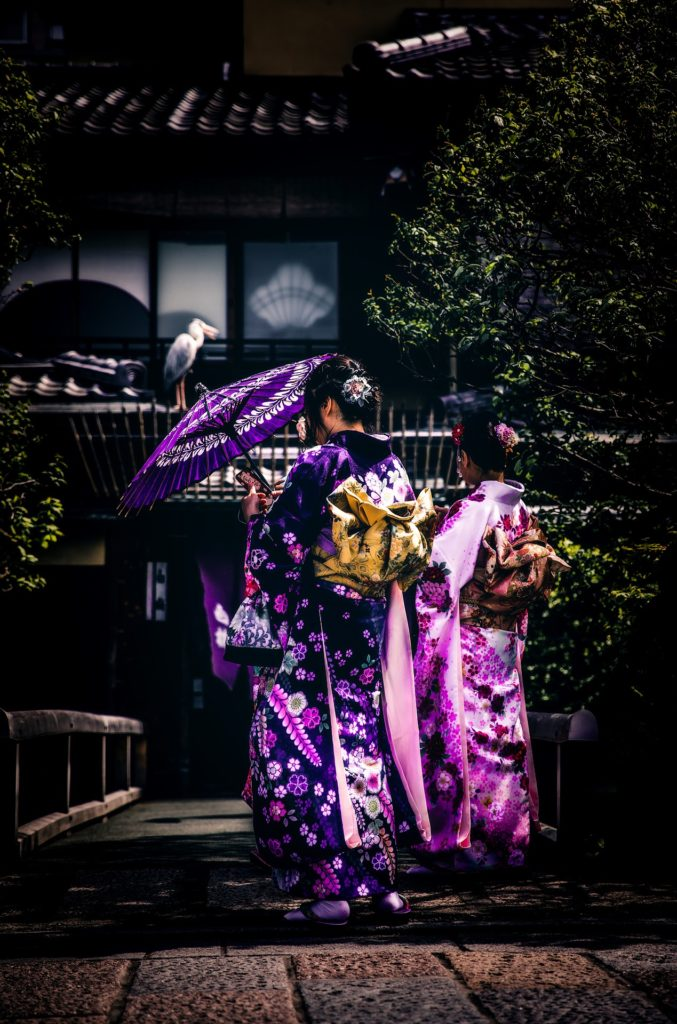 If you spot a Geisha you should approach her respectfully.