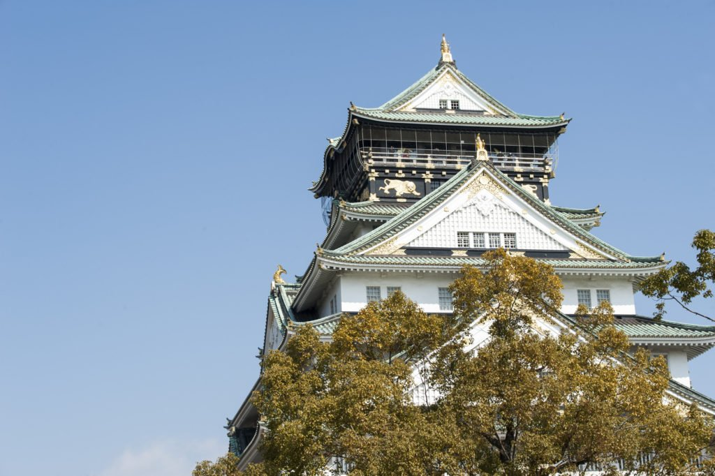 The most famous sight in Osaka is its Castle