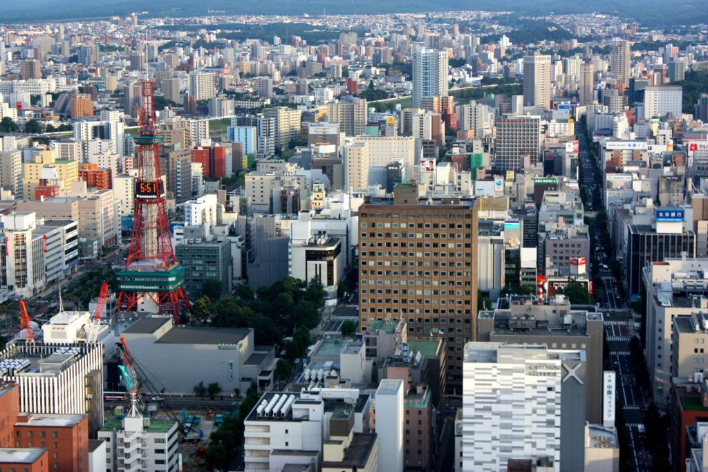 Sapporo has long been a big attraction for tourists