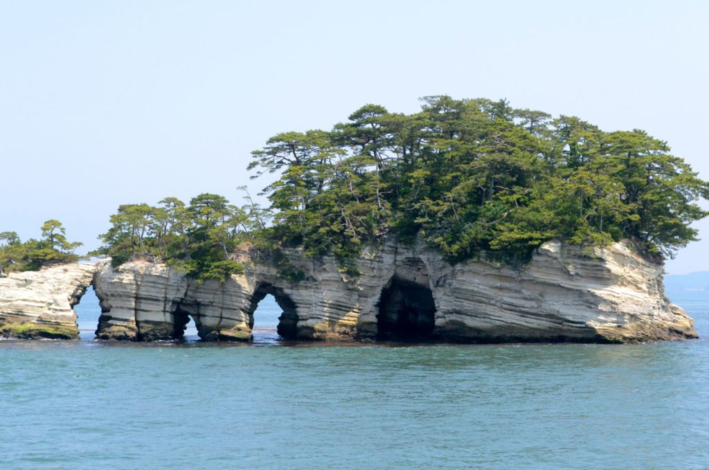 The Matsushima islands close to Sendai are worth a visit