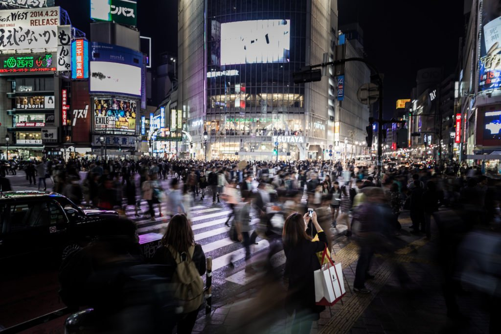 Tokyo nightlife is one of its kind