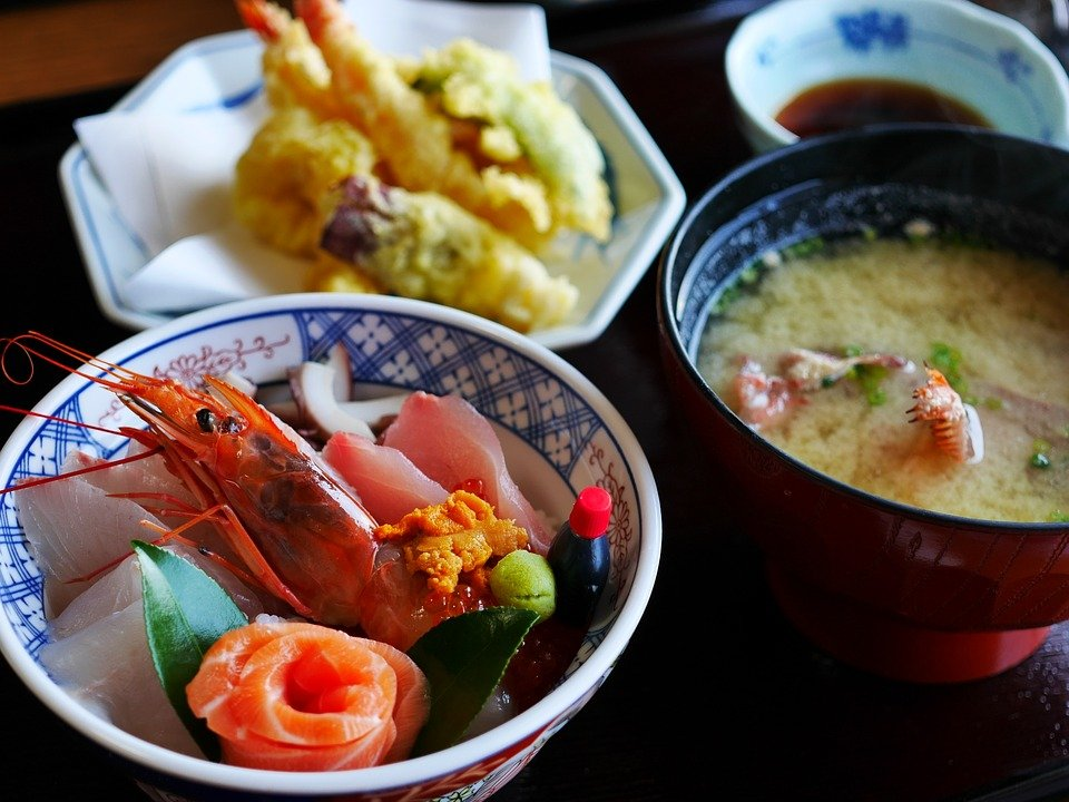 Morning meals in Tokyo