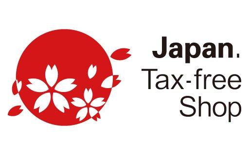 Tax free sticker Japan