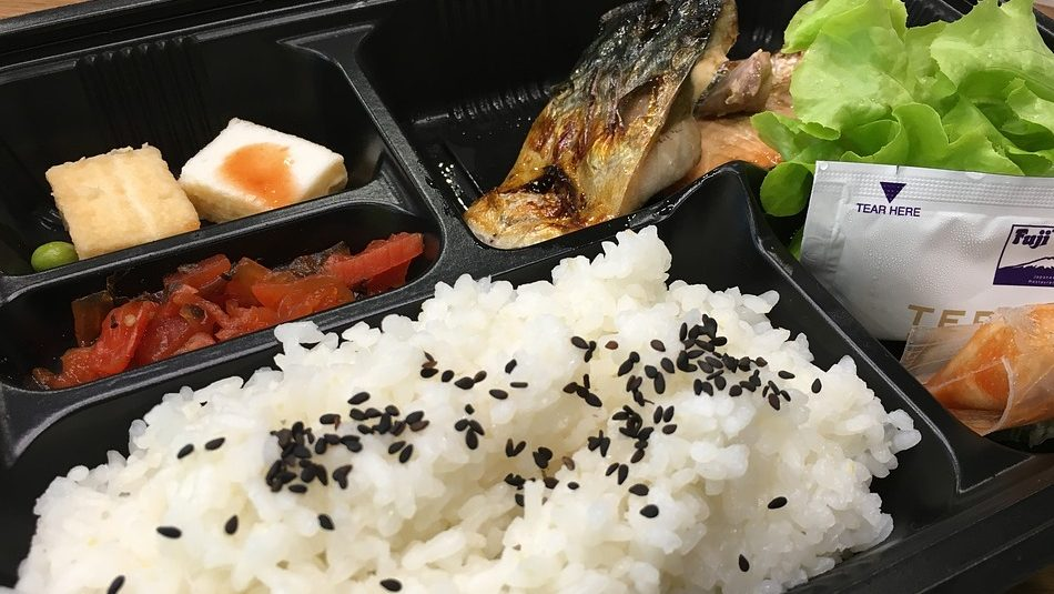 Bento Box from a Japanese Convenience Store