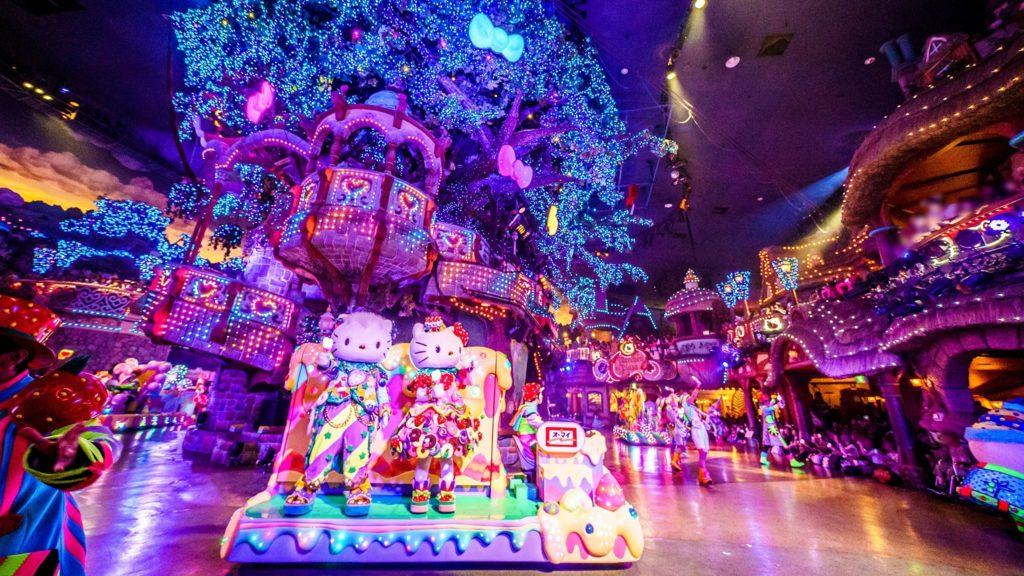 Best amusement parks - Sanrio Puroland
