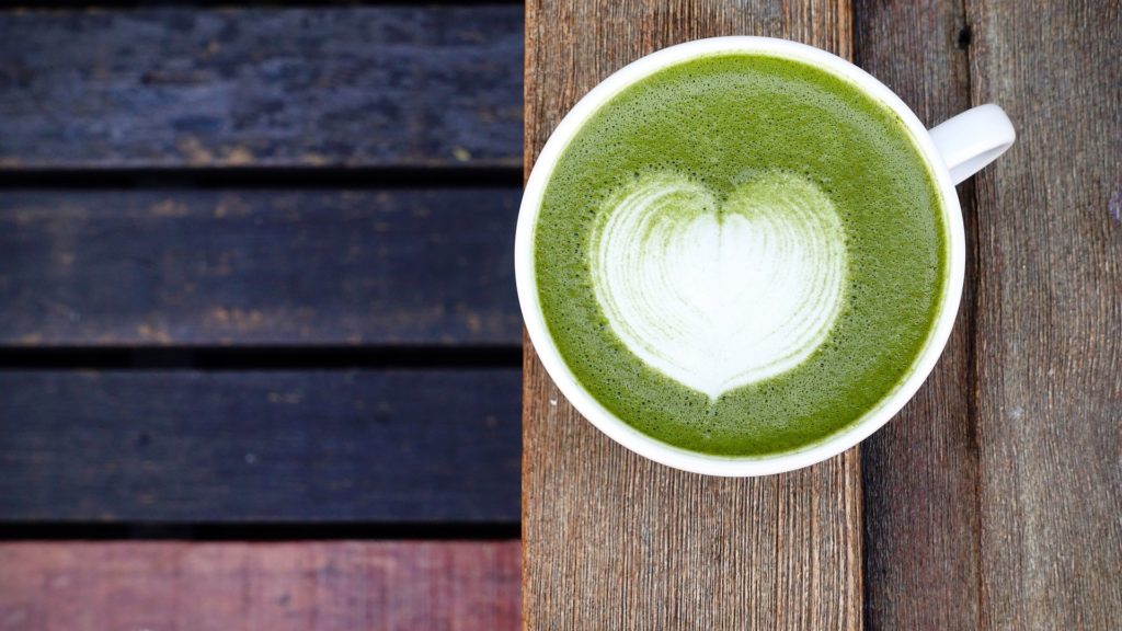 Enjoy the best matcha latte in Tokyo
